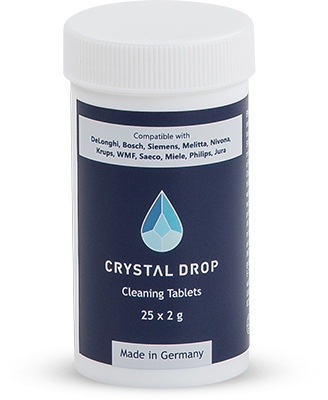 Valymo tabletės 25 vnt, Crystal Drop