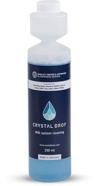 Milk system cleaning 250 ml, Crystal Drop